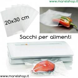 50 sacchi per alimenti 20x30cm